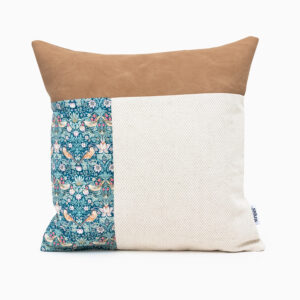 William Morris Luxury Linen Cushion Cover from Linen and Stripes